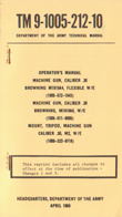 M1919A4 Technical Manual