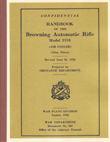 Handbook Browning Automatic Rifle Model 1918