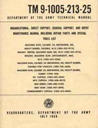 Browning Ordnance Manuals