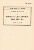 Machine Gun Mounts for Trucks, by Noville