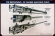Browning M2 .50 caliber model machine guns - TIN