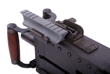 M2HB Picatinny Rail for use with rear sight dovetail.