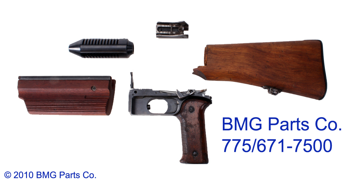 Bmgparts Com 1918 1918a3 Bar Browning Automatic Rifle Parts
